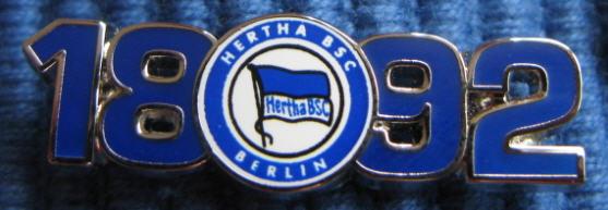 Pins Hertha BSC Berlin - Sachstand: 01.02.2015